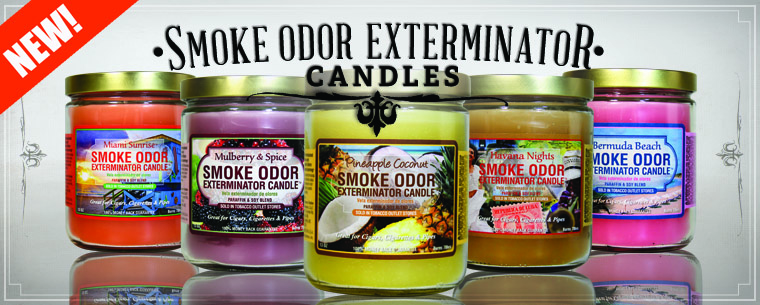 Smoke Odor Exterminator Candles.