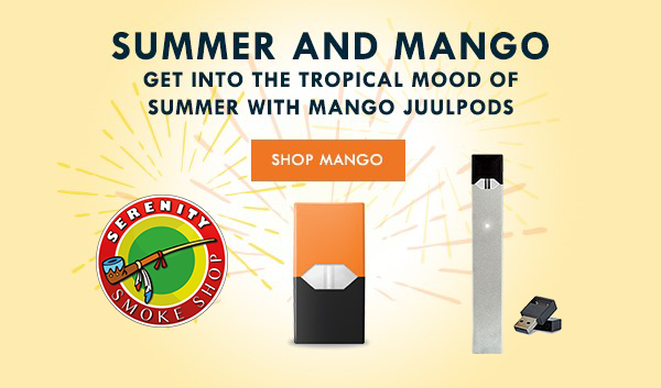 summer and mango serenity smoke shop