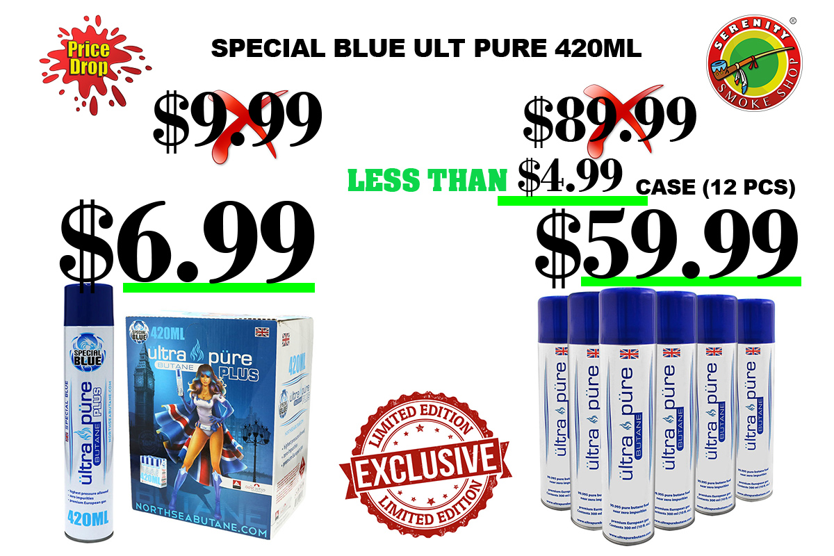 SPECIAL BLUE ULTRA PURE 420ML LESS THEN $4.99