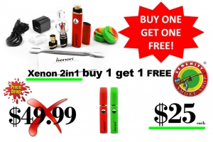 $49.99 Xenon 2-in-1 Portable Vape Pen