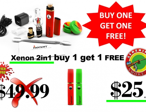 Xenon 2-in-1 Portable Vape Pen buy 1 get 1 FREE
