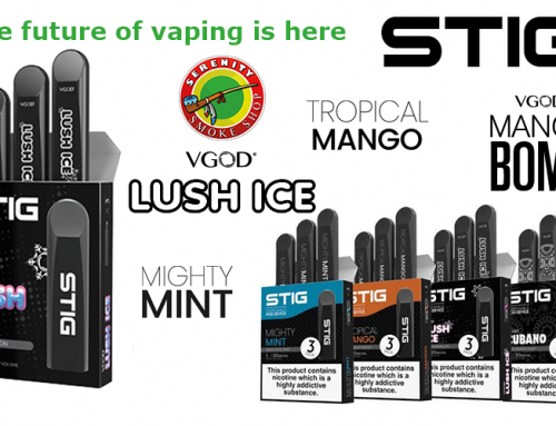The future of vaping is here ! Fresh tastes to help you …  STIG DISPOSABLE PODS 3 PACK at SERENITY SMOKE SHOP